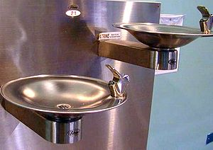 Traditional water fountains