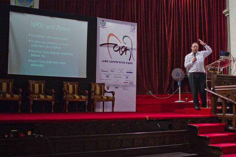 WikiConference India 2011 Jimmy Wales 4