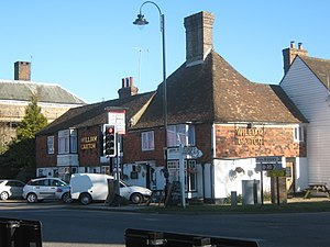 English: William Caxton Public House, Tenterde...