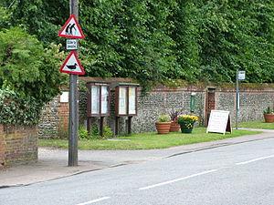 "Traffic sign ""elderly people"", Melfo..."