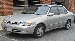 1998-2000 Toyota Corolla photographed in Colle...