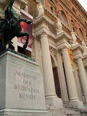 Façade of the Akademie der Bildenden Künste, W...