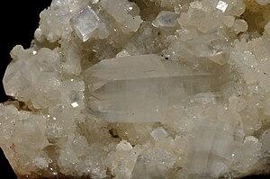 Apophyllite blanche 1 (Inde)