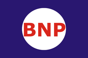 Banner associated with the British National Party.