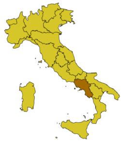 Location of Cápua
