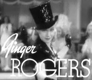 Screenshot of Ginger Rogers from the trailer f...