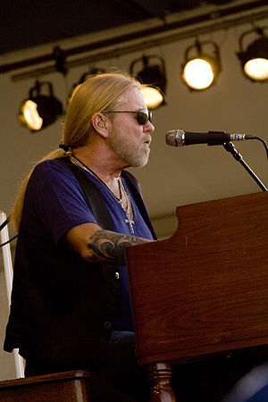 Gregg Allman at New Orleans Jazz Fest