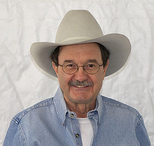Jim Hightower at the 2008 Texas Book Festival,...