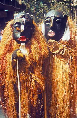 Two Lassa Witch Doctors