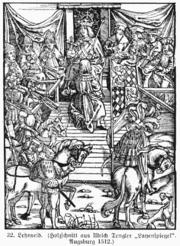Aceptación del feudo, 1512