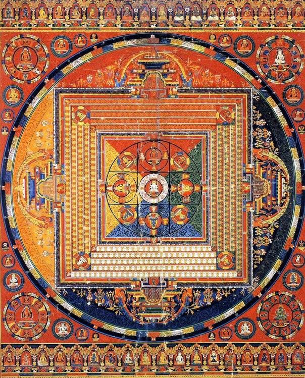 Mandala of Vajradhatu