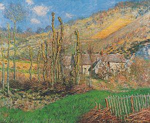 Monet - Val de Falaise (Giverny) - 1885