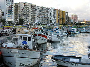 Fishing port of Algeciras.