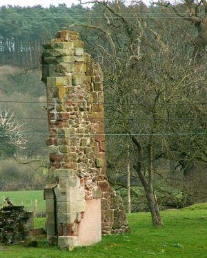 Myddle Castle Ruins Shropshire