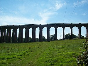 Ouse Valley Viaduct Also known locally as Balc...