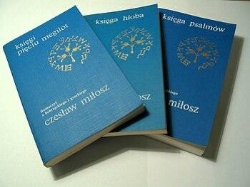 Bible translations to polish language by Czesł...