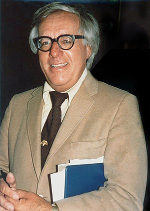 Photo of Ray Bradbury.