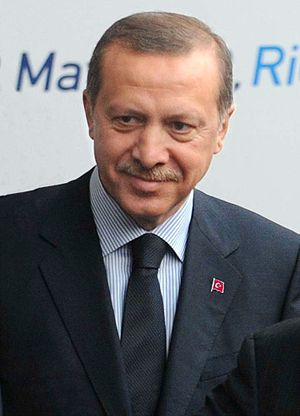 Turkish Prime Minister Recep Tayyip E...