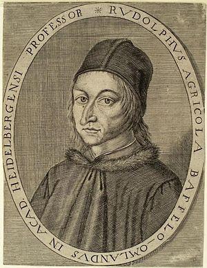 Rudolf Agricola. Heidelberg / Universitätsbibl...