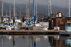 Santa Barbara port, California