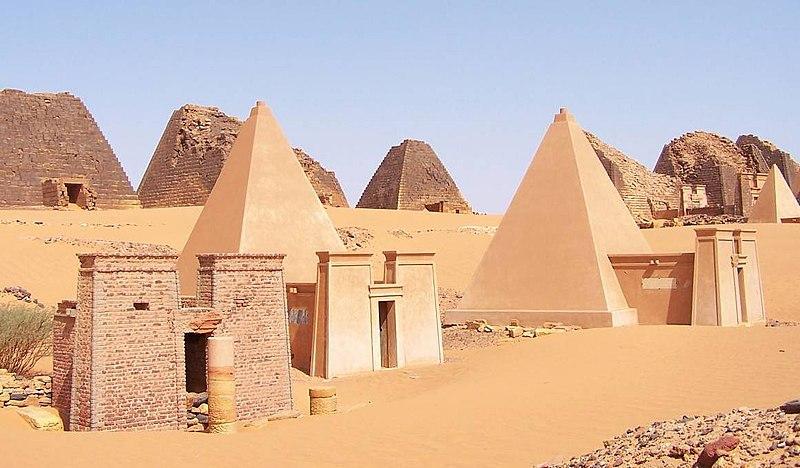 Pyramides de Méroé au Soudan - Patrimoine mondial de l'UNESCO