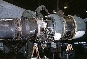 A U.S. Air Force maintenance personnel service...