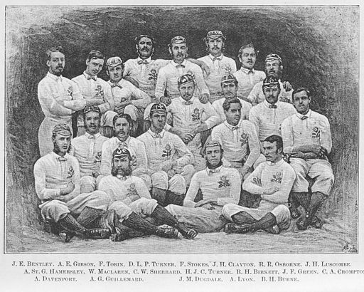 The-First-England-Team