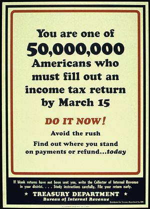"""""""YOU ARE ONE OF 50,000,000 AMERICANS WHO ..."""
