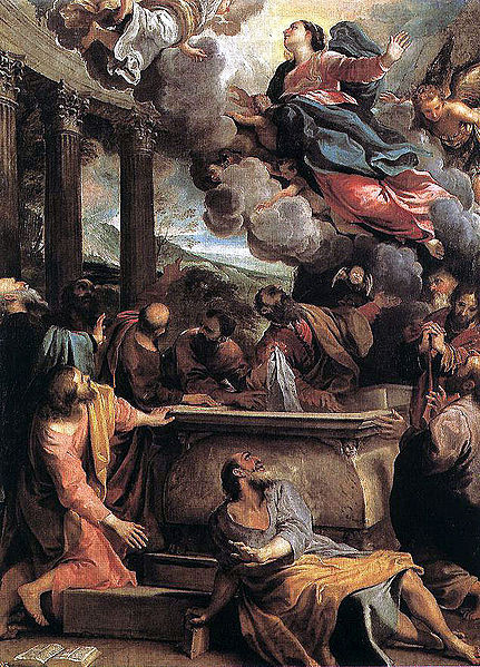 File:1590 Annibale Carracci, Assumption of the Virgin Madrid, Prado.jpg