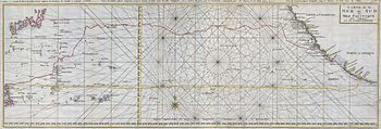 1748 Seale Map of the Pacific Ocean w- Trade R...