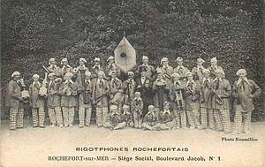 Français : Les Bigotphones Rochefortais à Roch...