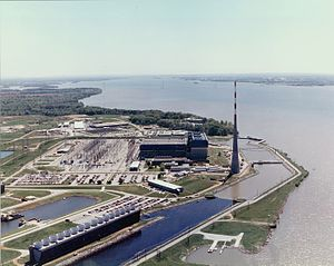 Browns Ferry power plant