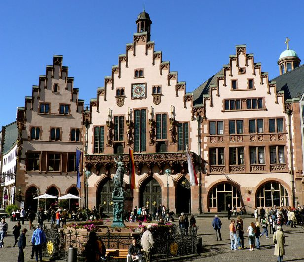 City hall frankfurt hesse germany