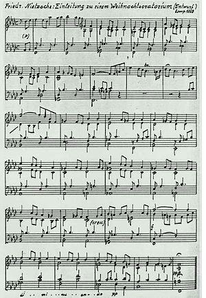 Français : Oratorio de 1860 du philosophe Frie...