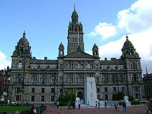 Glasgow City Chambers, George Square, City of ...