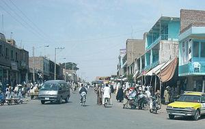 Street in Herat, Afghanistan