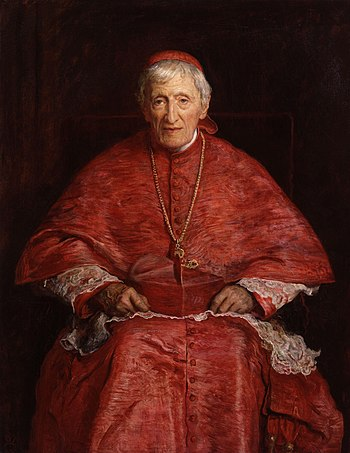 John Henry Newman, by Sir John Everett Millais...