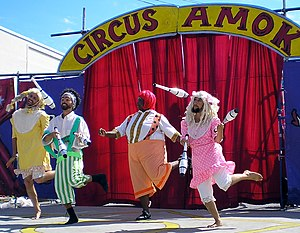 Circus Amok Jugglers by David Shankbone, New Y...
