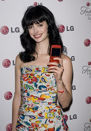 LG Mobile Phone Touch Event. Actress Krysten R...