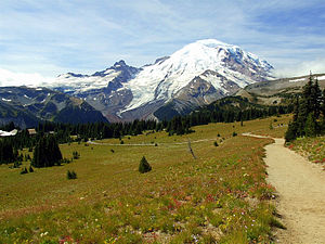English: Mount Rainier