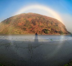 360 degrees Fog bow.