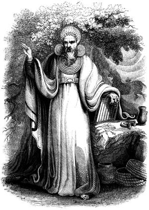 """""""Arch-Druid in his full Judicial Costume&..."""