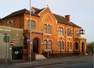 The Council House in Brownhills, photographed ...