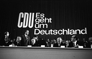 Party convention, Düsseldorf 1965