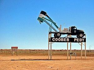 Coober Pedy (»Opal Capital of the World«), Aus...
