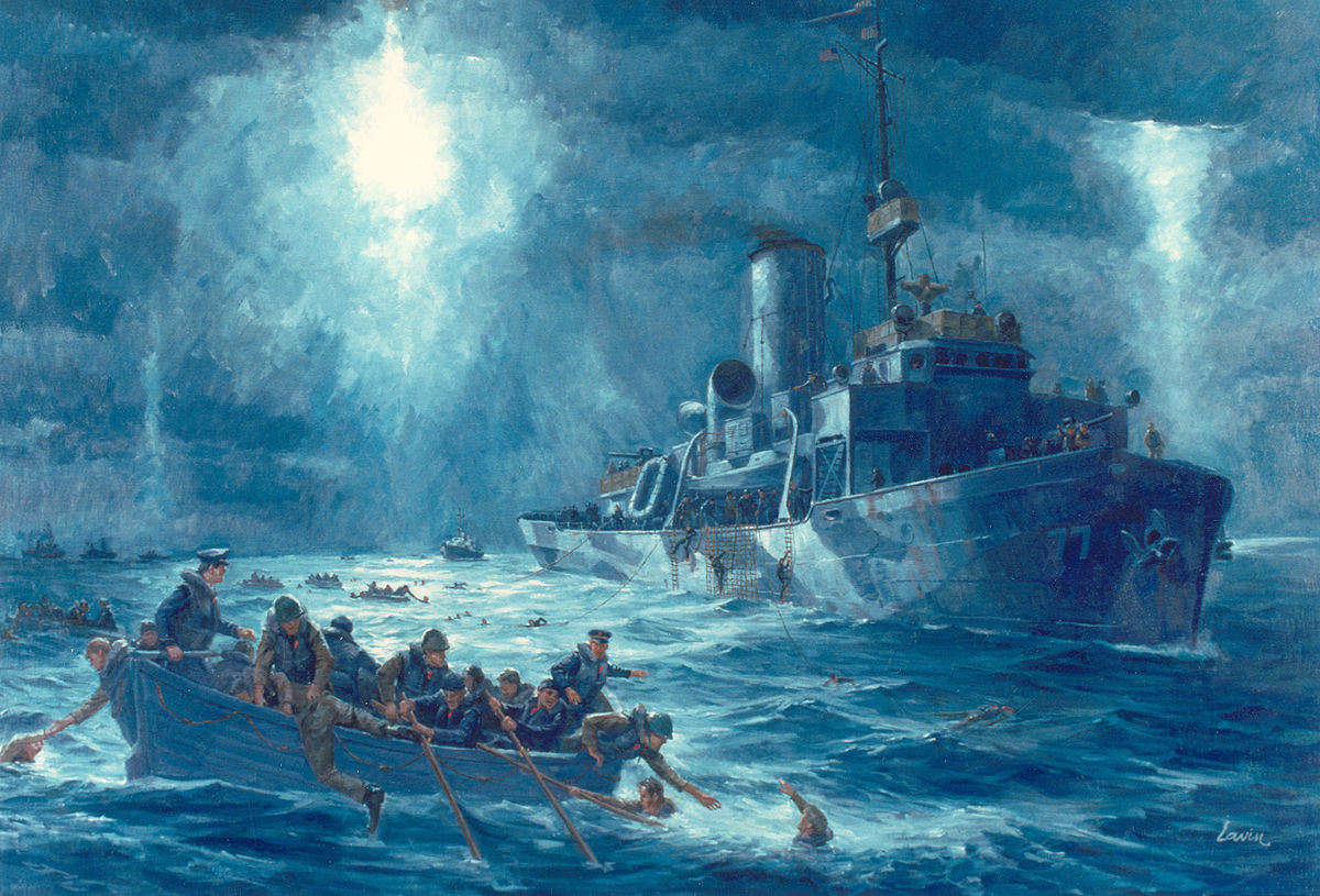 Escanaba-Dorchester rescue from Wikimedia Commons