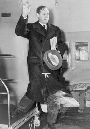 """Harry L. Hopkins as he left for England ..."