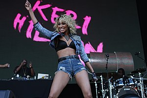 Keri Hilson performing at Supafest in Australi...