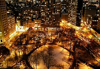 Madison Square Park in New York City.