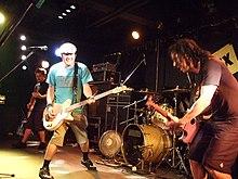 Photo du groupe NOFX.